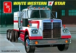 White Western Star Tractor