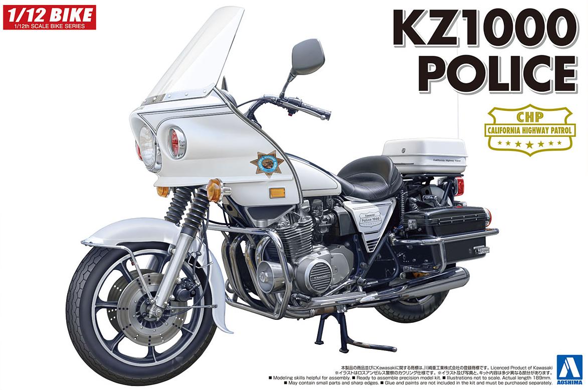 Kawasaki KZ1000 Police