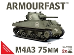 ArmourFast  1:72 Sherman M4A3 75mm