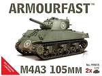 ArmourFast  1:72 Sherman M4A3 105mm