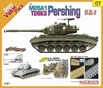 M26A1/T26E3 Pershing (2 in 1) w/ US Army Figure Set  - Orange Series