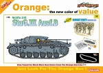 StuG III Ausf B w/ Wehrmacht Infantry, Barbarossa 1941 Figure Set - Orange Series