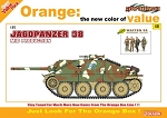 Jagdpanzer 38 (Hetzer) Mid Production w/ Waffen Grenadier, Ardennes 1944 Figure Set - Orange Series