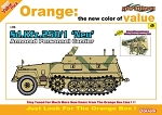 Sd Kfz 250/1 NEU Armored Personnel Carrier w/ Figure Set - Orange Series