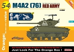 M4A2 (76) Red Army &Maxim Machine Gun - Orange Series