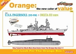 USS Ingersoll (DD 990) vs Delta III SSBN - Orange Box