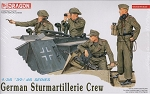 German Sturmartillerie Crew 1940-45