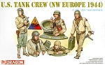 Dragon 1:35  US Tank Crew - NW Europe 1944