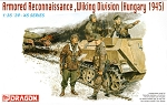 Dragon 1:35 Armored Reconnaissance, Wiking Division - Hungary 1945
