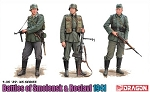 Battle Of Smolensk & Roslavl 1941 - 3 Figure Set with Bonus DS Uniform & Boots - Limited