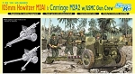 105mm Howitzer M2A1 & Carriage M2A2 w/USMC Gun Crew - Smart Kit