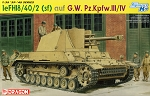 Dragon 1:35 leFH18/40/2 (Sf) auf G.W. Pz.Kpfw.III/IV - Smart Kit