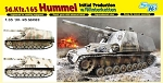 Sd Kfz 165 Hummel Initial Production with Winterketten
