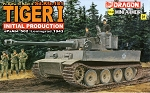 Dragon 1:144 Tiger I Initial - Mini Armor Series