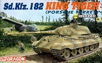 Dragon 1:144 Sd Kfz 182 King Tiger (Porshe Turret) - Mini Armor Series