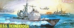 Dragon 1:350 USS Ticonderoga - CG47