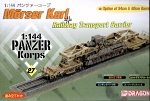 Panzer Korps 27 - Morser Karl on Railway Transport Carrier