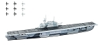 F- Toys 1:2000 USN Carrier Enterprise - Waterline