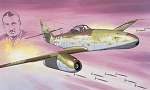 Messerschmitt Me262A Jv44 Galland
