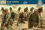 German DAK Infantry - World War 2