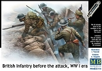 British Infantry Before the Attack - First World War Series