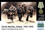 Soviet Marines Attack 1941-1942 - Eastern Front Battle Series Kit No. 2 Hand to Hand Combat