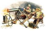 US Machine Gun Browning M1917A1 w/ Gunner