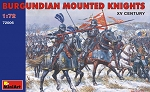Burgundian Mounted Knights - 15th Century