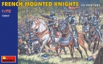 French Mounted Knights - 15th Century
