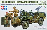 British SAS Commando Vehicle 1944