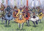 Samurai Warriors Cavalry 16th-17th AD