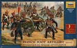 French Foot Artillery 1810-1814, Napoleonic Wars
