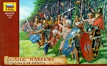 Zvezda 1:72 Gallic Warriors 2nd-1st BC