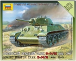 Soviet Tank T-34/76 - New Tooling ~ Snap Kit