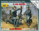 German 81mm Mortar with Crew ~ Snap Kit