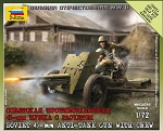 Soviet 45mm Anti-Tank Gun with Crew ~ Snap Kit