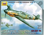 Messerschmitt Bf-109 F-2 ~ Snap Kit