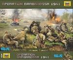 Operation Barbarossa 1941 - Military Historic Board Game Art of Tactic