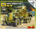 BA-10 Soviet Armored Car - Snap Kit