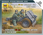 German 75mm Infantry Gun with Crew ~ Snap Kit