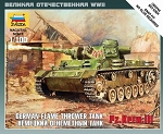 Panzer III Flamethrower Tank ~ Snap Kit
