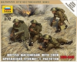 British Machine Gun with Crew 1939-42 ~ Snap Kit