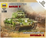 Matilda II British Medium Tank - Snap Kit