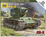 KV-2 Heavy Soviet Tank ~ Snap Kit