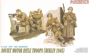 Soviet Motor Rifle Troop -Berlin 1945