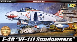 USN F-4B VF-111 Sundowners