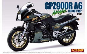 Kawasaki GPZ900R Ninja A6 - Export Version
