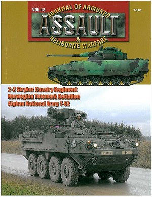 Concord Assault Journal 18 Cover