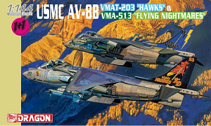 "USMC AV-8B VMAT-203 Hawks + VMA-513 ""Flying Nightmares"" - Twin Pack"