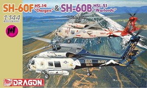 SH-60F HS-14 Chargers + SH-60B HSL-51 Warlords - Twin Pack
